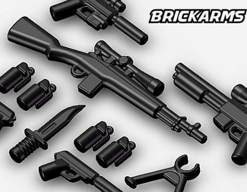 BrickArms covert Lego weapons pack