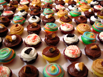 Baked By Melissa cupcakes