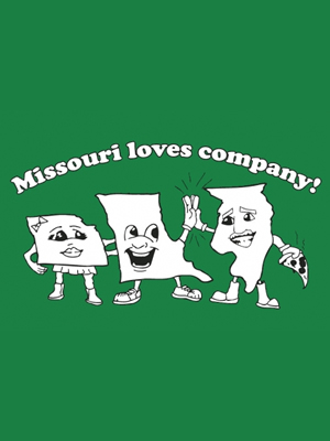 Missouri Loves Company from Busted Tees