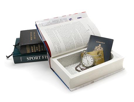 Secret book box