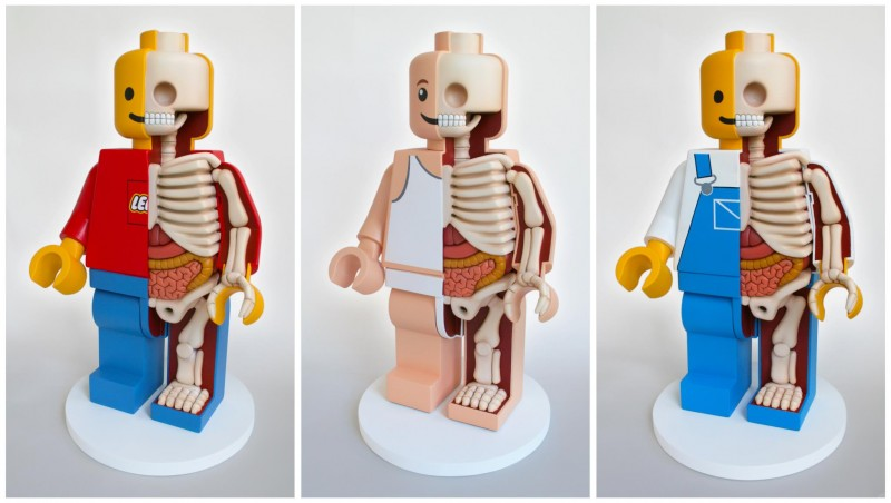 Dissected Lego Men